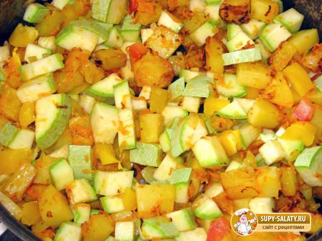 Овощное рагу. Рецепт с фото