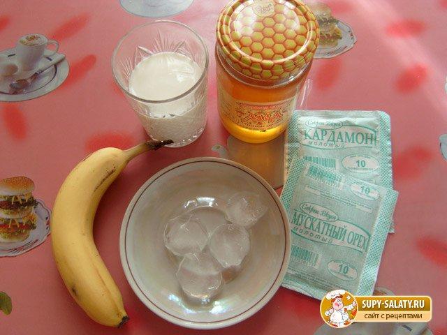 Коктейль банановый ласси. Рецепт с фото
