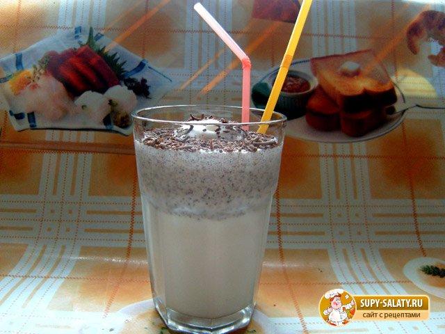 Молочный коктейль «Оазис в пустыне». Рецепт с фото