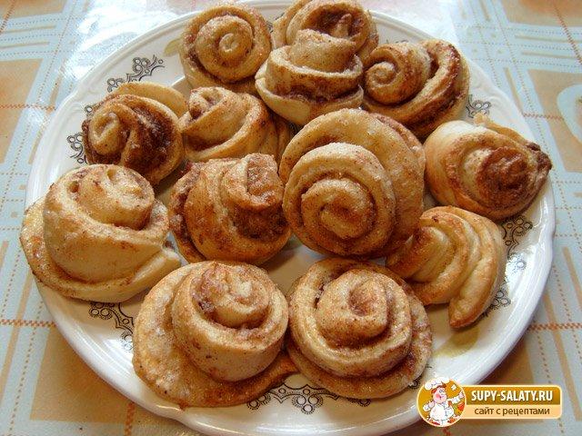 Лимонные булочки с корицей. Рецепт с фото
