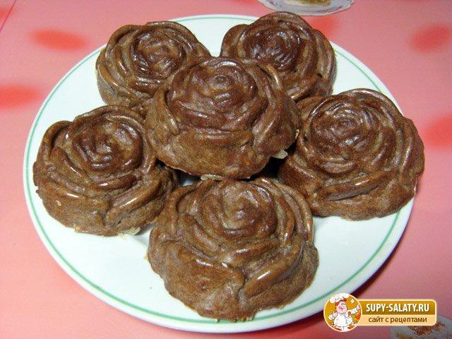 Закусочные кексы из печени. Рецепт с фото