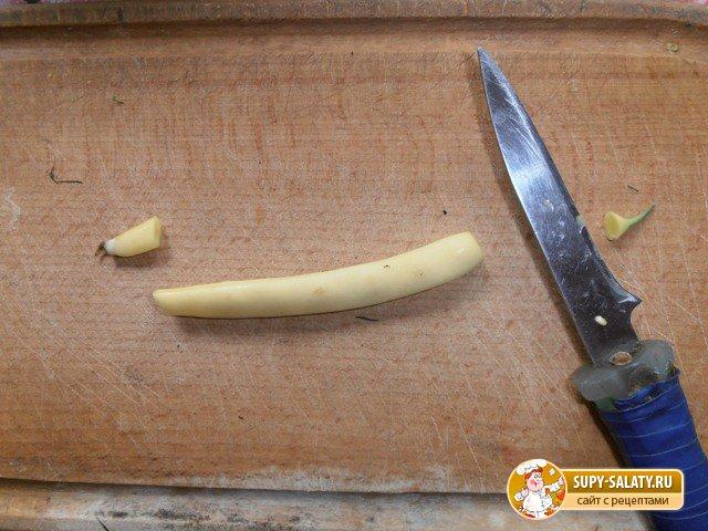 Тушеная стручковая фасоль «Лопатки по-закарпатски». Рецепт с фото