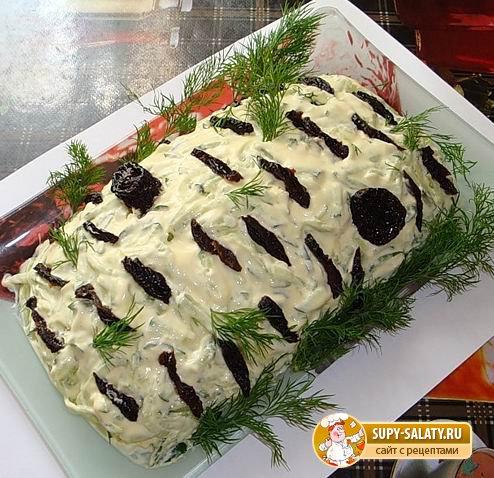 Рецепты салатов на новый год необычные
