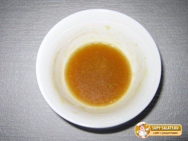 Салат пикантно-острый с кунжутом