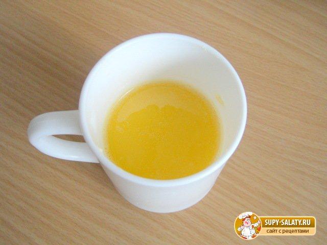 Тирольский пирог с клубникой и апельсином