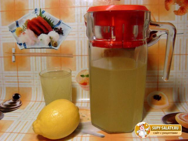 Лимонад из цитрусовых с мятой. Рецепт с пошаговыми фото