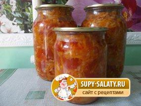 рецепты зимних салатов с болгарским перцем