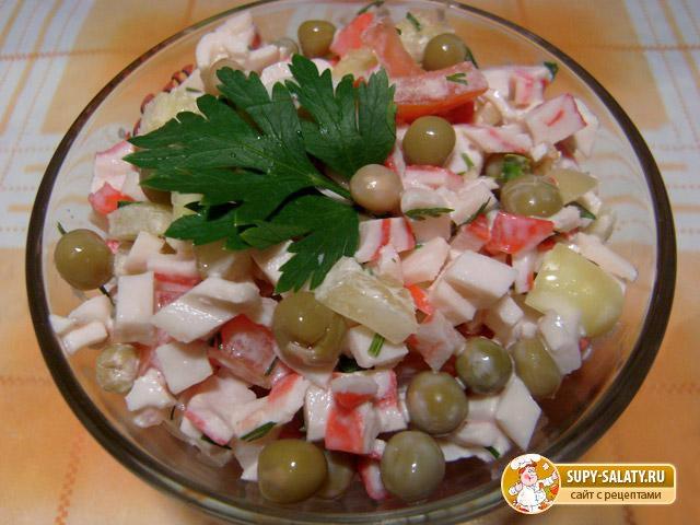 Белковые салаты рецепты с фото