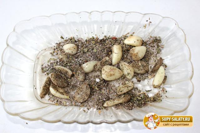 Подчеревок с горчицей и травами, запеченный в фольге. Рецепт с пошаговыми фото