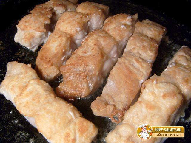 Филе сома под сыром. Рецепт с пошаговыми фото