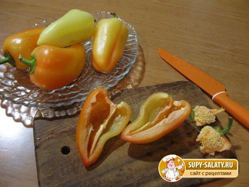 Заготовка из сладкого перца. Мастер класс