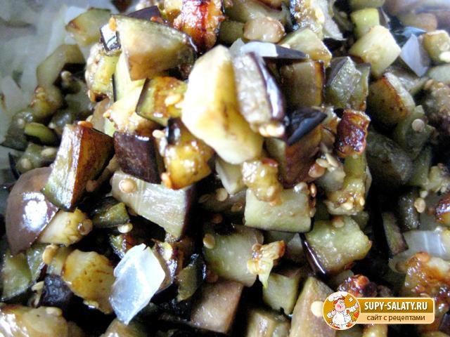 рецепт баклажанов с грибной приправой