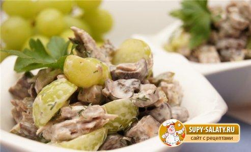 Маринованные шампиньоны из них салат