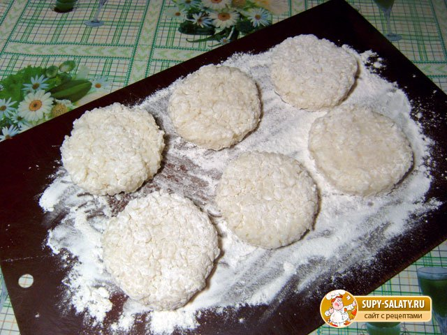 Рисовые биточки. Рецепт с фото