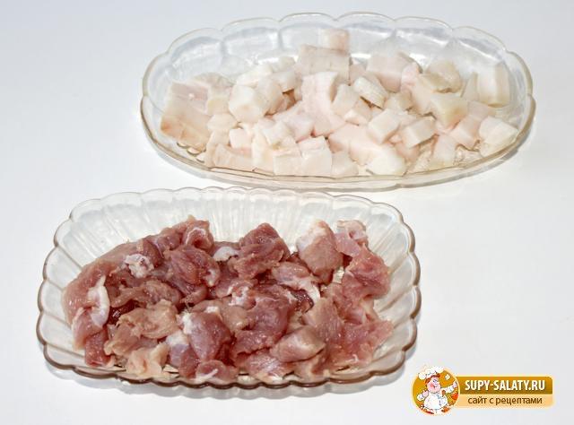 Мамалыга с мясом и брынзой. Рецепт с фото
