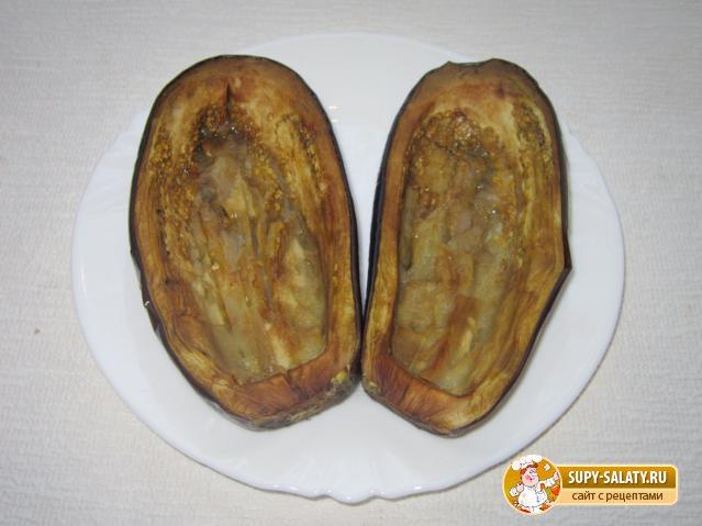 Фаршированные баклажаны Башмачки. Рецепт с пошаговыми фото