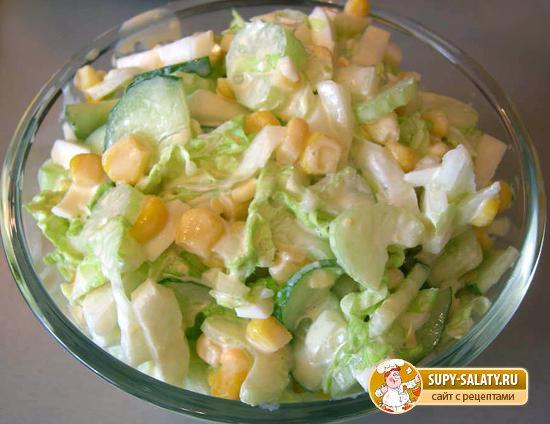 простой салат рецепт не сложние с фото