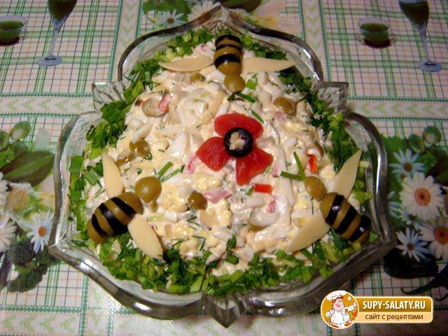 Легкие рецепты салатов на день рождения с и рецептами