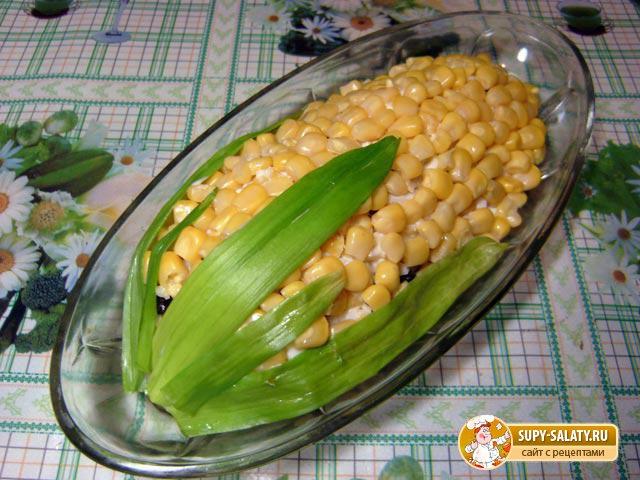 Рецепты салатов с кукурузойфото