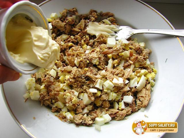 Закуска из баклажанов с сардиной. Рецепт с фото