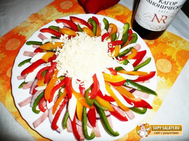 рецепты новых салатов 2013 с фото