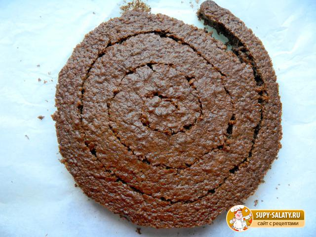 Торт Змея на клумбе. Рецепт с фото