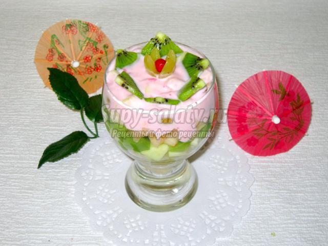 Салат фруктовый Нежность