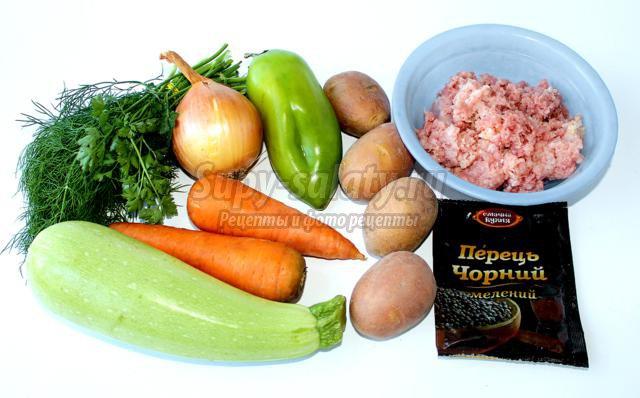 фрикадельки для супа рецепт из мясного фарша