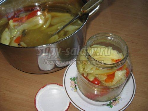 Консервирование сладкого перца с медом. Мастер класс