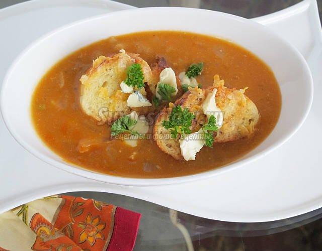 рецепт супа на курином бульоне с цветной капустой