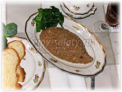 Ежики из печени рецепт с пошагово