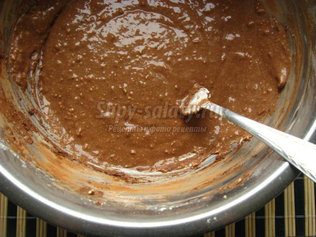 Маффины с шоколадом