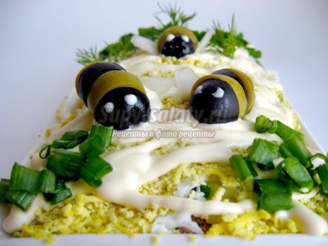 Салат Пчёлки