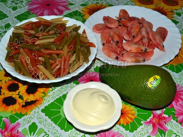 Мятный салат спшеницей икреветками, пошаговый рецепт с фото