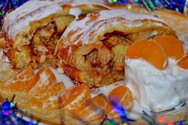 Рулет из лаваша с ветчиной - вкусный рецепт с пошаговым фото