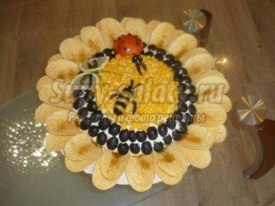 праздничные салат на Новый год 2014