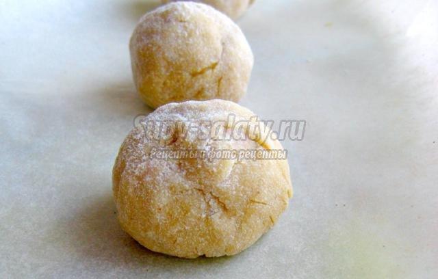Яблочное печенье с корицей рецепт с