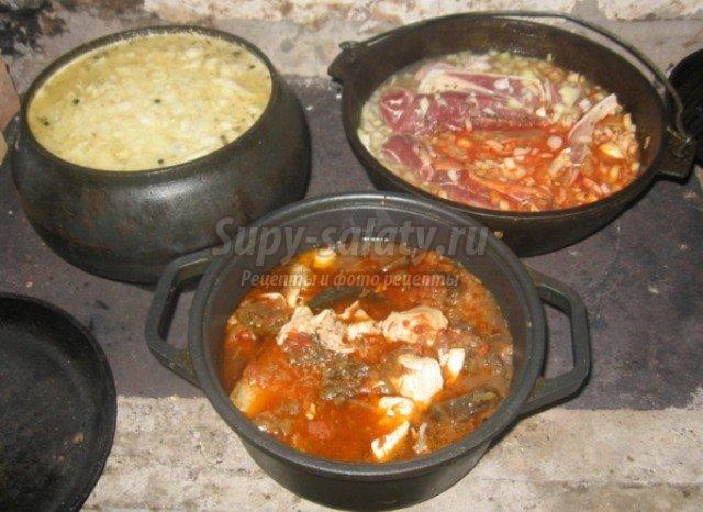 Рецепты для русской печки с фото