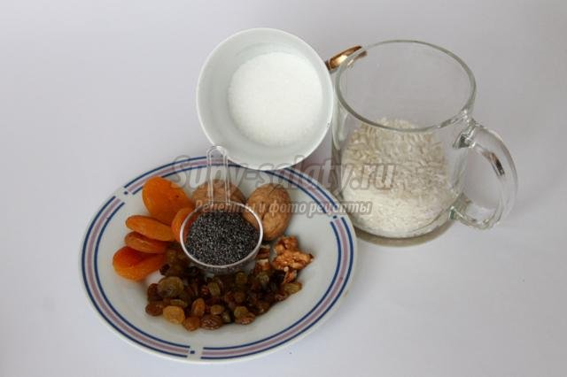 кутья из риса для детей