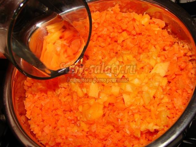 оладьи из моркови и тыквы