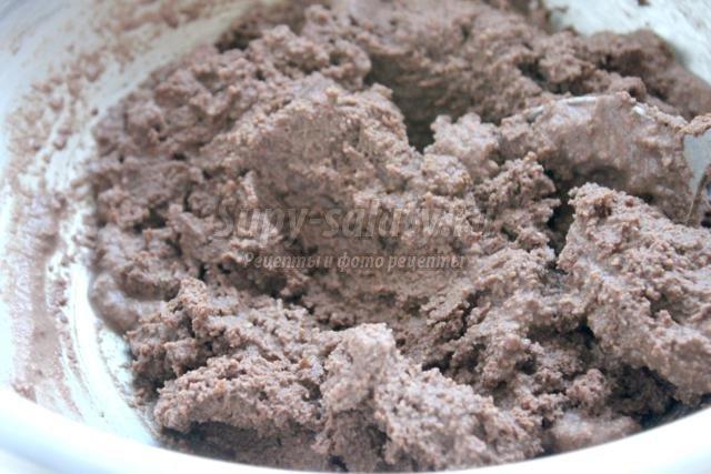 шоколадный пудинг на сливочном масле