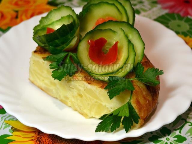 Испанская картофельная тортилья