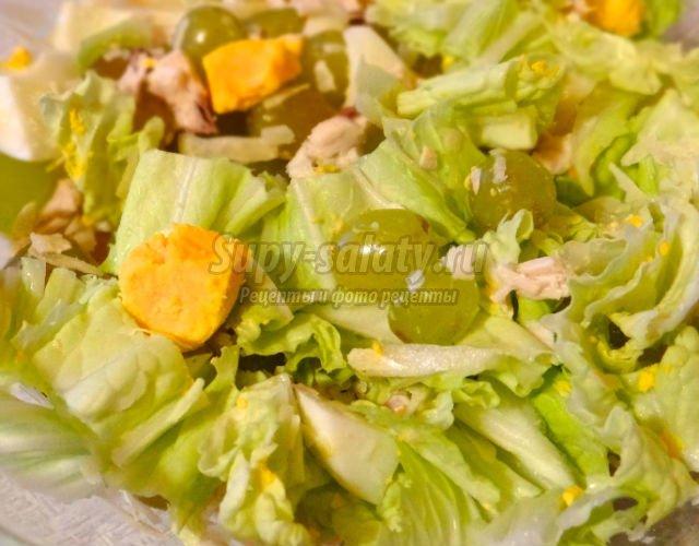 Украшение для салатов своими руками