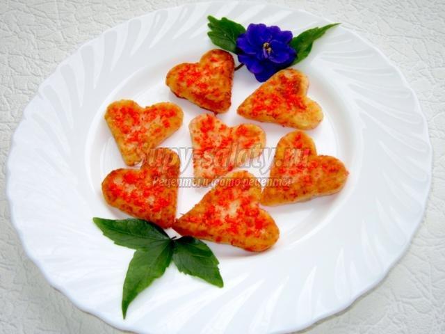 сырники-сердечки. Завтрак для влюбленных