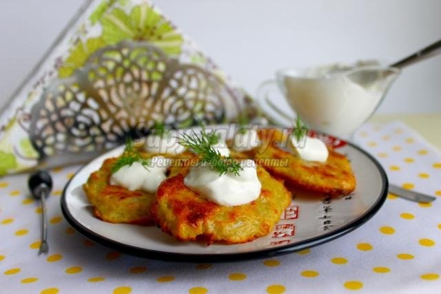 Картофельные драники в духовке — рецепт с фото пошагово