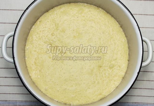 пшеничный хлеб на молоке