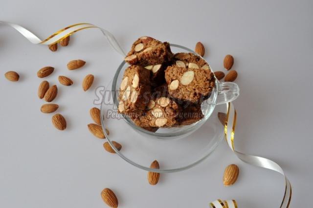 кантуччи с орехами