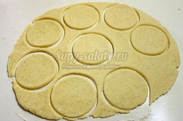 творожное печенье с сахаром