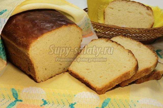 домашний хлеб из пшеничной муки