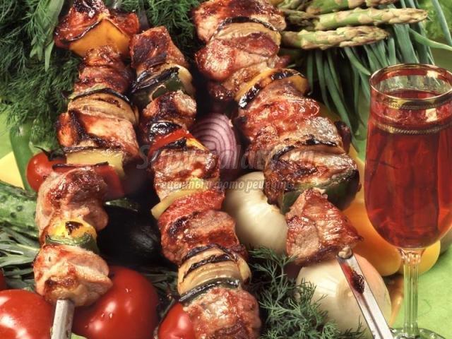 Белый соус для шашлыков и барбекю